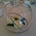 Fishbowl Centre Pieces - Available for Hire